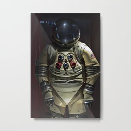 Spacesuit Metal Print