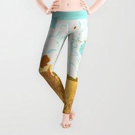 ROCKET LAUNCH Leggings