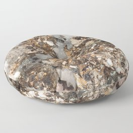 Pyrite and Quartz Floor Pillow