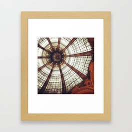Parisian ceiling Framed Art Print