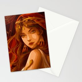 Roman Woman (Painting) Stationery Cards
