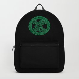 Celtic Wolf Backpack
