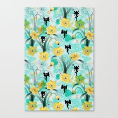Watercolor Fairies Canvas Print