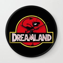 Dreamland Wall Clock
