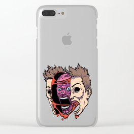 Out of my Skin Clear iPhone Case