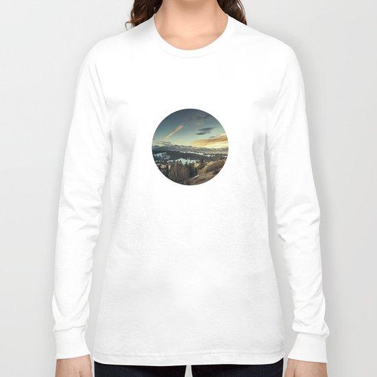 Sunset Landscape Long Sleeve T-shirt