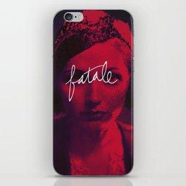 Femme Fatale iPhone Skin