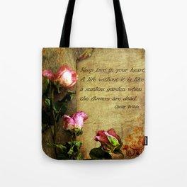 Roses of love Tote Bag