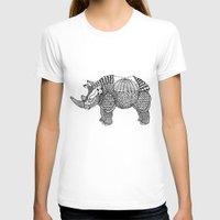 rhino T-shirts featuring Rhino by farah allegue