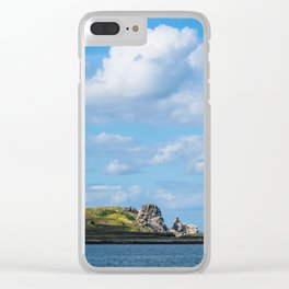 HOWTH 02 Clear iPhone Case