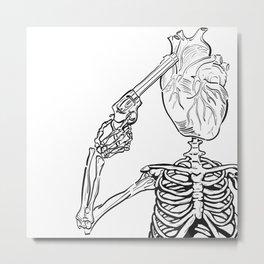 Heart Ache Metal Print