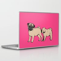 the smiths Laptop & iPad Skins featuring FOLLOW by Huebucket