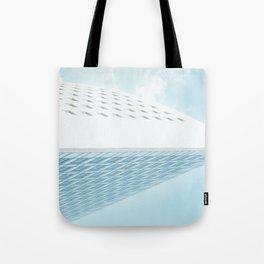 Horizontal building Tote Bag