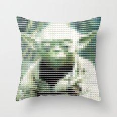 Yoda - StarWars - Pantone Swatch Art Throw Pillow