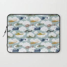 Kids Room Helicopters Laptop Sleeve