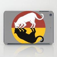 lunar iPad Cases featuring Solar & Lunar by Tummeow