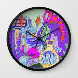 Witchy Witch Wall Clock