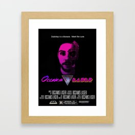 Occams Laser (faux movie poster) Framed Art Print