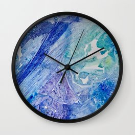 Water Scarab Fossil Under the Ocean, Environmental Wall Clock