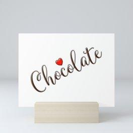 Chocolate Love Mini Art Print