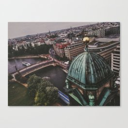 Berlin High View Canvas Print