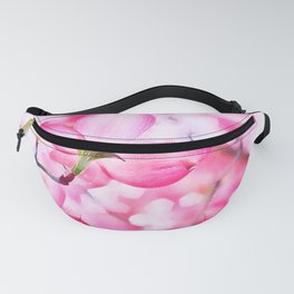 Cherry pink blossoms watercolor painting #18 Fanny Pack