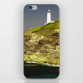 Trevose Head Lighthouse, Cornwall, United Kingdom iPhone Skin