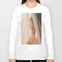 megan lara Long Sleeve T-shirts featuring Megan by andradexcobain