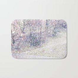 Snow in early fall(2). Bath Mat