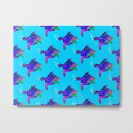Time For Turtles Metal Print