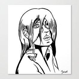 One Eyed Ghoul Canvas Print