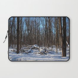 Time Forgives the Past Laptop Sleeve