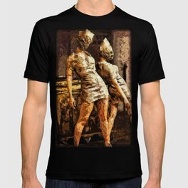 Deadly Duo Silent Hill Nurses T-shirt
