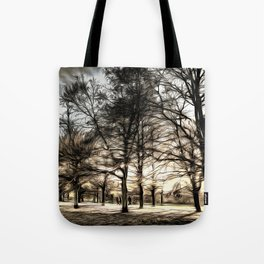 Greenwich Park London Art Tote Bag