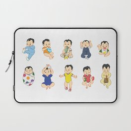 lots of babies! Laptop Sleeve