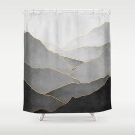 Minimal Landscape 01 Shower Curtain