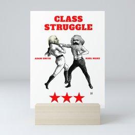 Class Struggle Mini Art Print