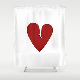 Heel my heart Shower Curtain