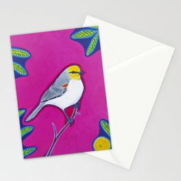 Vivacious Verdin Stationery Cards