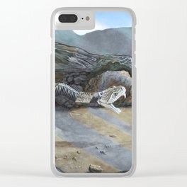 Watch Your Step Clear iPhone Case