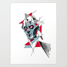 peter murphy 2 Art Print