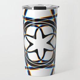 Lily - White Travel Mug