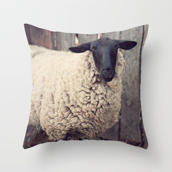 have you any wool? Throw Pillow