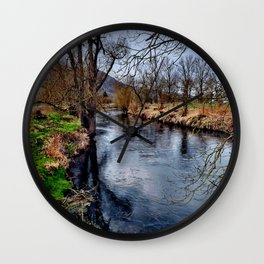 Winterimpression Wall Clock