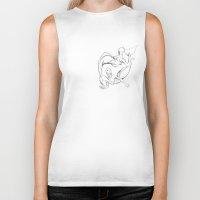 mermaids Biker Tanks featuring Mermaids by Grazia_art