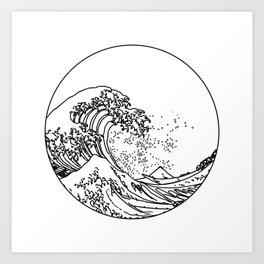 The Great Minimal Wave Art Print