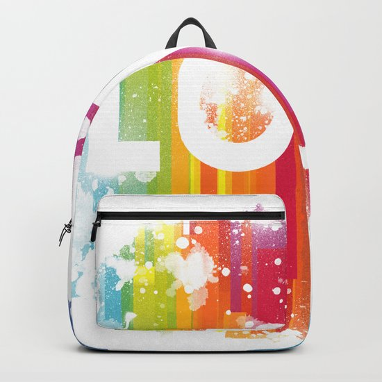 For Love - White Background Backpack