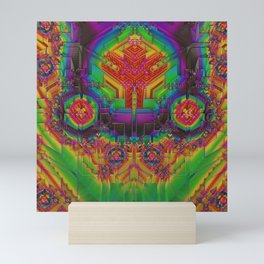 Dynamic Circuitry Mini Art Print