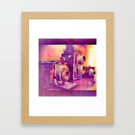 Father Son Grandson Framed Art Print