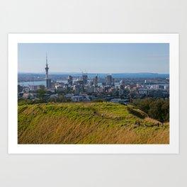 Auckland View Art Print